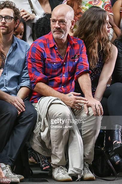 Singer Michael Stipe attends Edun Spring 2013 at Skylight Studios at Moynihan Station on September 8 2012 in New York City