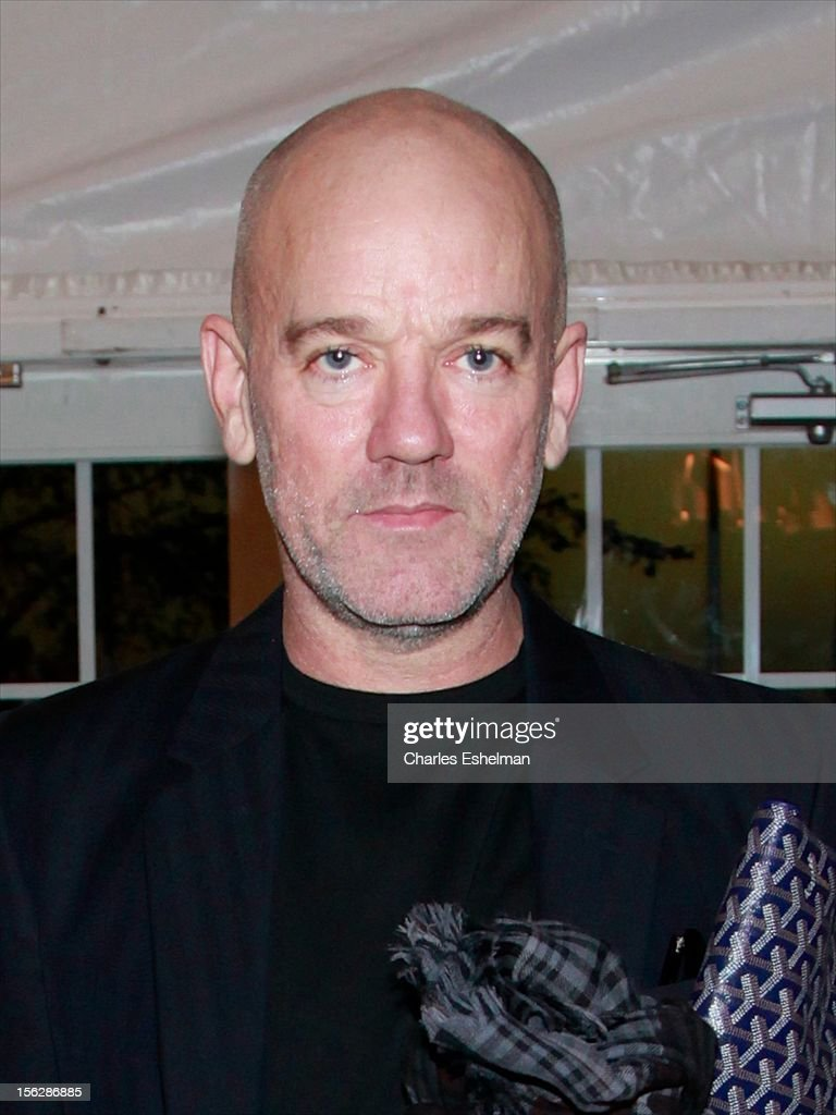 Singer Michael Stipe attends the 2012 Dia Art Foundation's Gala at Dia Art Foundation on November 12, 2012 in New York City.