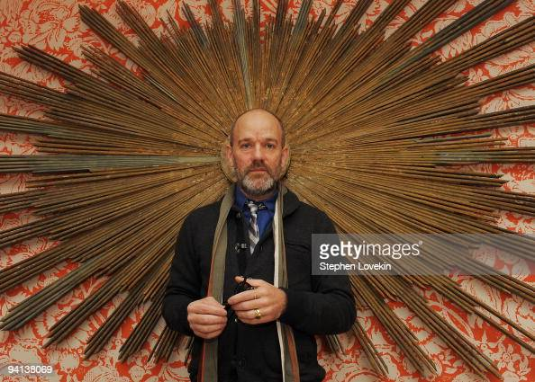 Singer Michael Stipe of REM attends the premiere of 'The Imaginarium of Doctor Parnassus' at the Crosby Street Hotel on December 7 2009 in New York...