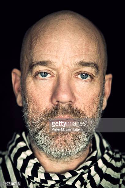 Singer Michael Stipe photographed for XL Semanal Espana on January 27 2011 in New York City