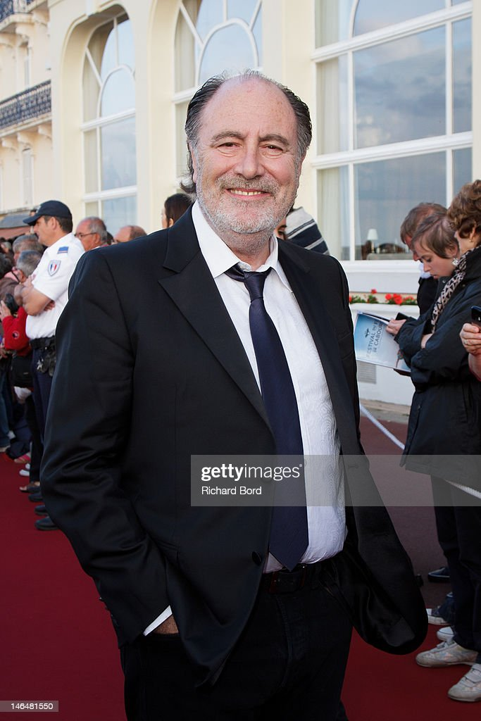 Singer Michel Delpech attends the 26th Cabourg Romantic Film Festival on June 16, 2012 in Cabourg, France.