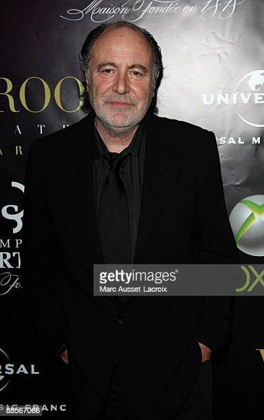 Singer Michel Delpech attends the Label AZ Annual Music Party at VIP Room Theatre on June 18 2009 in Paris France