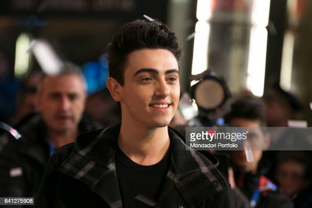 Singer Michele Bravi attends the Red Carpet of 67° Sanremo Music Festival Sanremo February 6 2017