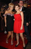 Singer Michelle and her daughter Celine attend the Lambertz Monday Night Schoko Fashion party at the Alten Wartesaal on February 1 2010 in Cologne...