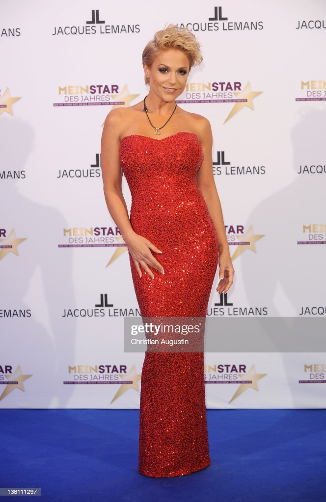Singer Michelle attends 'Mein Star des Jahres' Awards at Stage Entertainment Theatre on February 2 2012 in Hamburg Germany