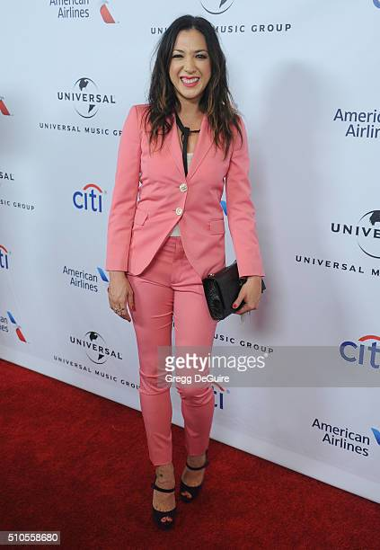 Singer Michelle Branch arrives at Universal Music Group's 2016 GRAMMY After Party at The Theatre At The Ace Hotel on February 15 2016 in Los Angeles...