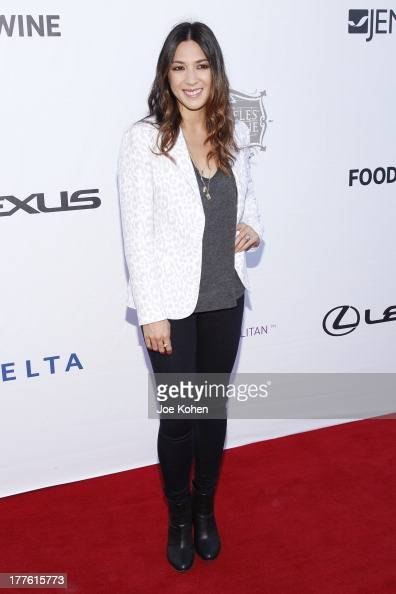 Singer Michelle Branch attends LEXUS Live On Grand At The 3rd Annual Los Angeles Food Wine Festival on August 24 2013 in Los Angeles California