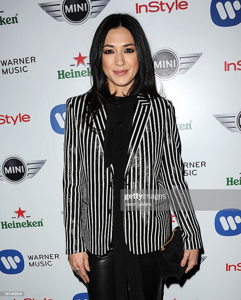 Singer Michelle Branch attends the Warner Music Group 2013 Grammy celebration at Chateau Marmont on February 10, 2013 in Los Angeles, California.