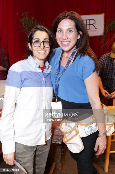 Singer Michelle Chamuel attends the GRAMMY Gift Lounge during the 56th Grammy Awards at Staples Center on January 23 2014 in Los Angeles California
