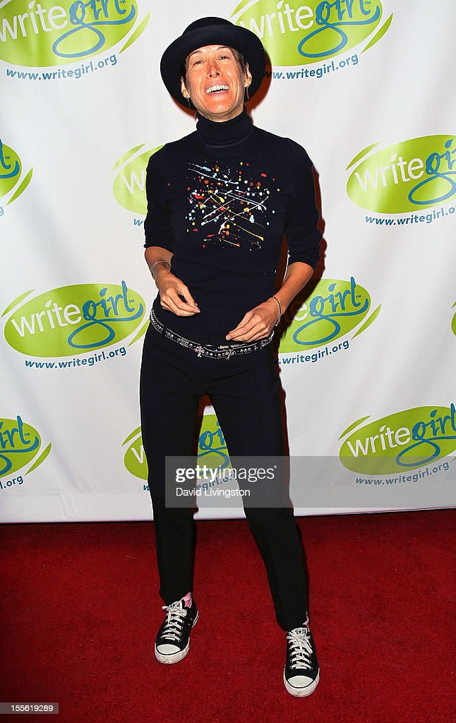 Singer Michelle Shocked attends the Bold Ink Awards at the Eli and Edythe Broad Stage on November 5, 2012 in Santa Monica, California.