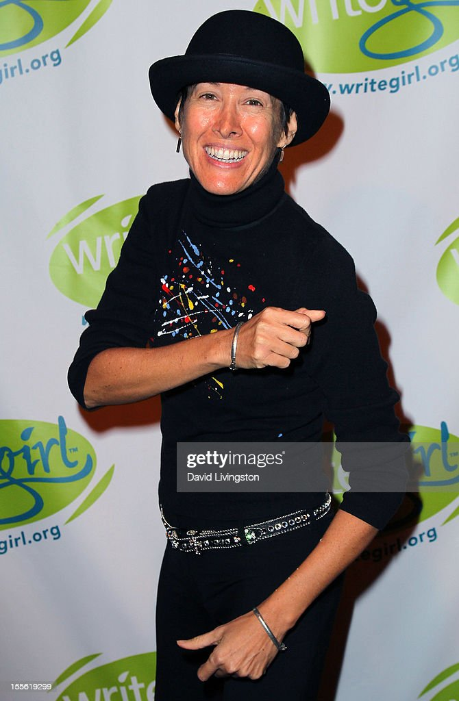 Singer Michelle Shocked attends the Bold Ink Awards at the Eli and Edythe Broad Stage on November 5 2012 in Santa Monica California