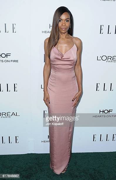 Singer Michelle Williams arrives at the 23rd Annual ELLE Women In Hollywood Awards at Four Seasons Hotel Los Angeles at Beverly Hills on October 24...