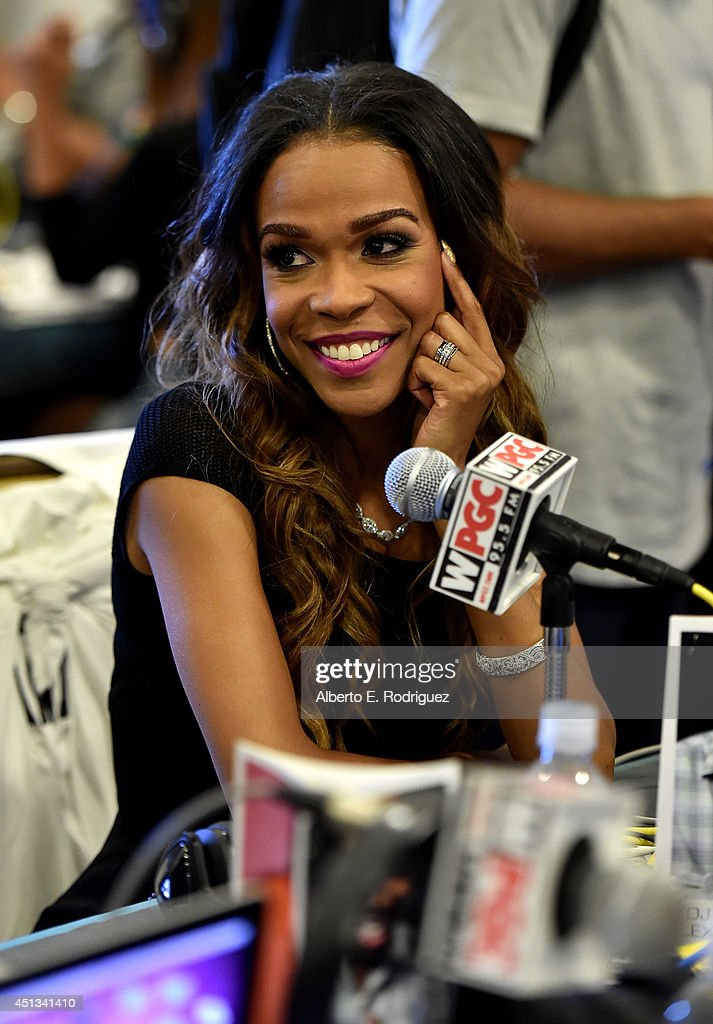 Singer Michelle Williams attends day 1 of the Radio Broadcast Center during the BET Awards '14 on June 27, 2014 in Los Angeles, California.