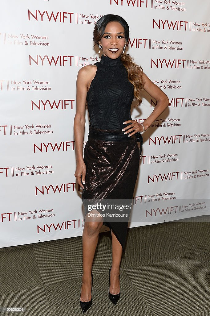 Singer Michelle Williams attends the 2014 New York Women In Film And Television 'Designing Women' Awards Gala at McGraw Hill Building on June 18, 2014 in New York City.