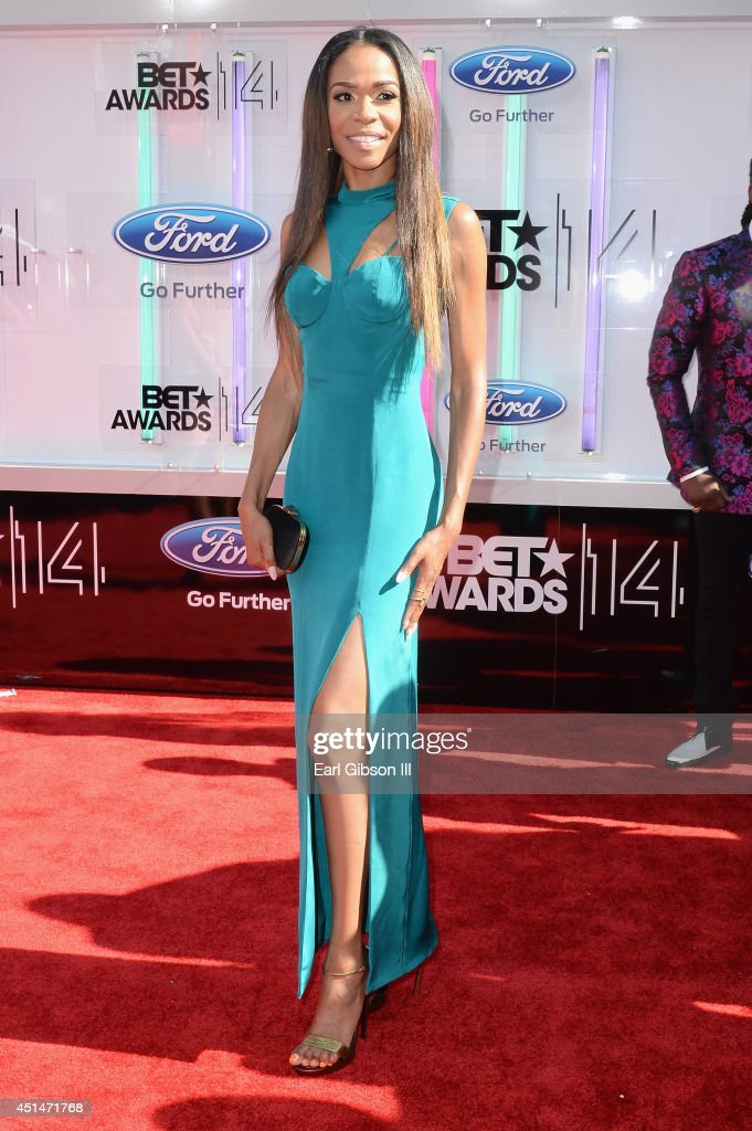 Singer Michelle Williams attends the BET AWARDS '14 at Nokia Theatre L.A. LIVE on June 29, 2014 in Los Angeles, California.