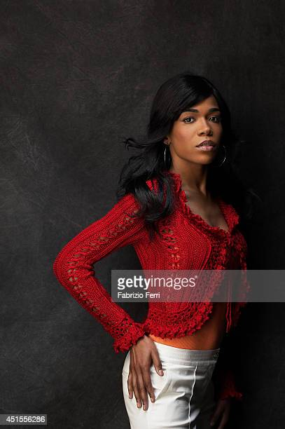 Singer Michelle Williams is photographed in October 2003 in New York City