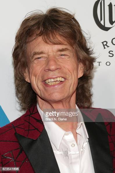 Singer Mick Jagger attends The Rolling Stones Exhibitionism opening night held at Industria Superstudio on November 15 2016 in New York City