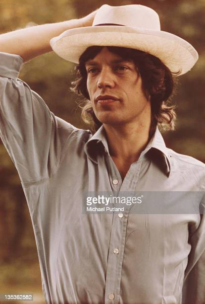 Singer Mick Jagger before the first night of the Rolling Stones' 1973 European World Tour Stadthalle Vienna Austria 1st September 1973