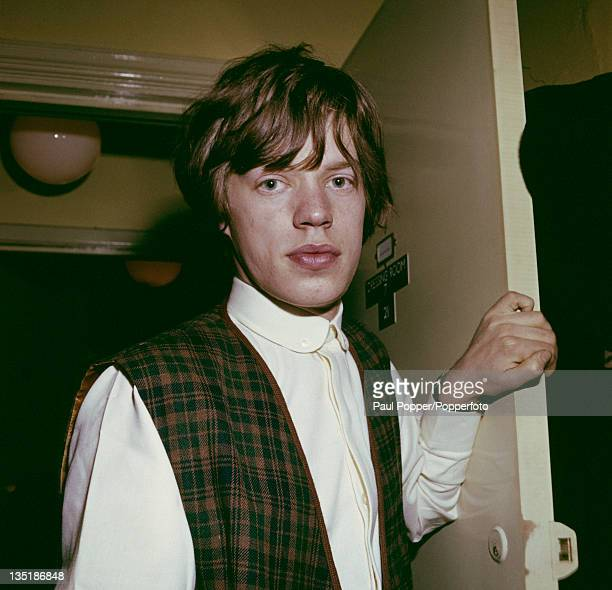 Singer Mick Jagger of the Rolling Stones 1963