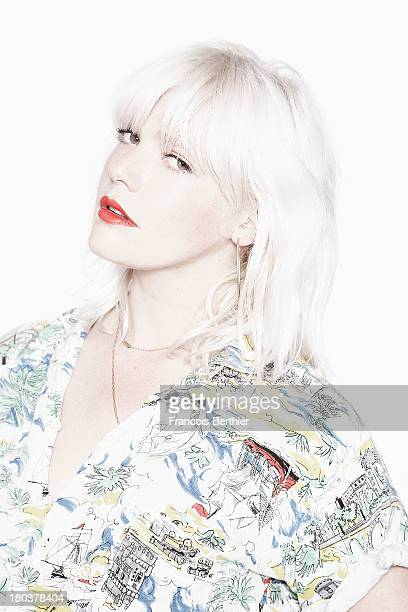 Singer Micky Green is photographed for The Blind Magazine on June 17 2013 in Paris France