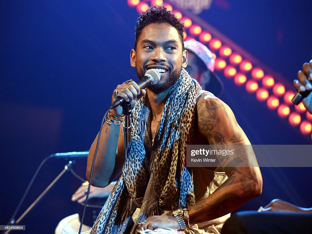 Miguel On The Honda Stage At The iHeartRadio Theater Los Angeles