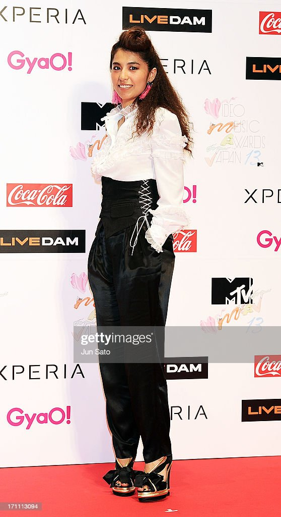 Singer Miho Fukuhara attends the MTV Video Music Awards Japan 2013 at Makuhari Messe on June 22, 2013 in Chiba, Japan.
