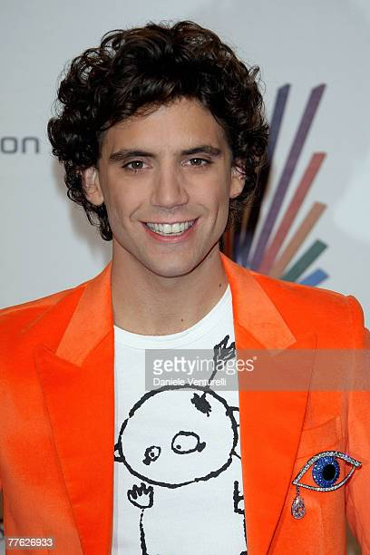 Singer Mika arrives at the 14th annual MTV Europe Music Awards 2007 held at the Olympiahalle on November 1 2007 in Munich Germany