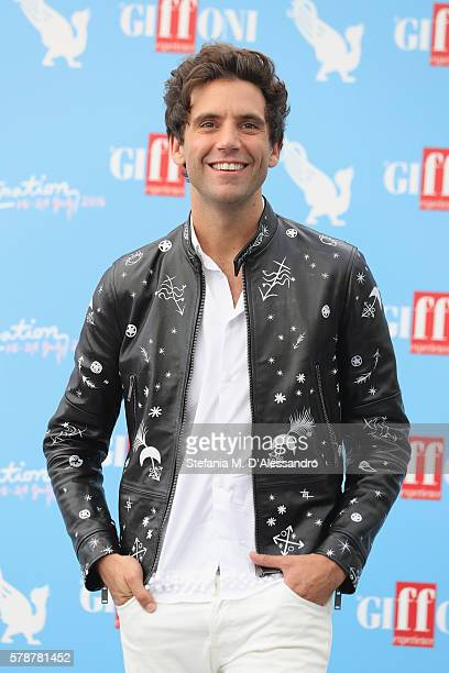 Singer Mika attends the Giffoni Film Festival photocall on July 22 2016 in Giffoni Valle Piana Italy