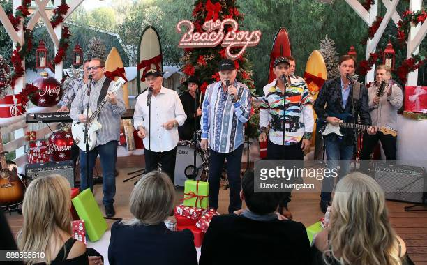Singer Mike Love of The Beach Boys performs at Hallmark's 'Home Family' at Universal Studios Hollywood on December 8 2017 in Universal City California