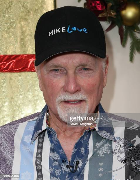 Singer Mike Love of The Beach Boys visits Hallmark's 'Home Family' at Universal Studios Hollywood on December 8 2017 in Universal City California