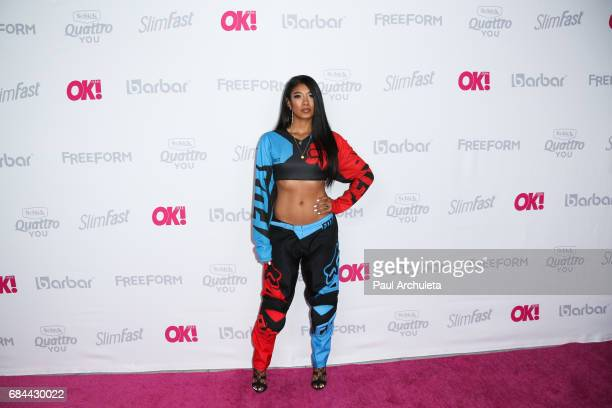 Singer Mila J attends OK Magazine's Summer kickoff party at The W Hollywood on May 17 2017 in Hollywood California