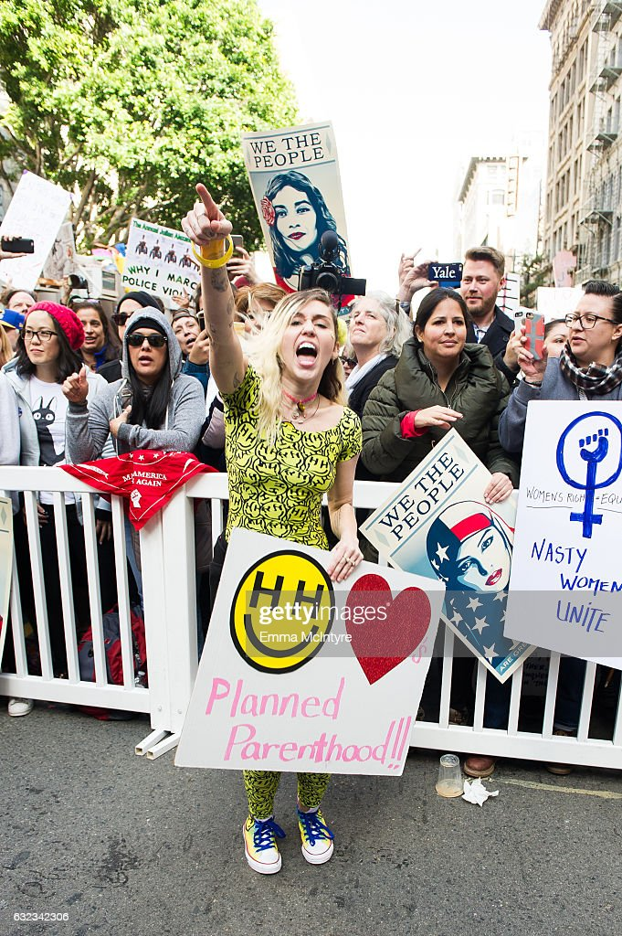 Miley Cyrus, who identifies as non-straight and non-binary, has been an activist for LGBT rights for the past few years. The singer founded a shelter for homeless and LGBT youth in 2015.