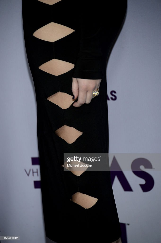 Singer Miley Cyrus attends 'VH1 Divas' 2012 at The Shrine Auditorium on December 16, 2012 in Los Angeles, California.