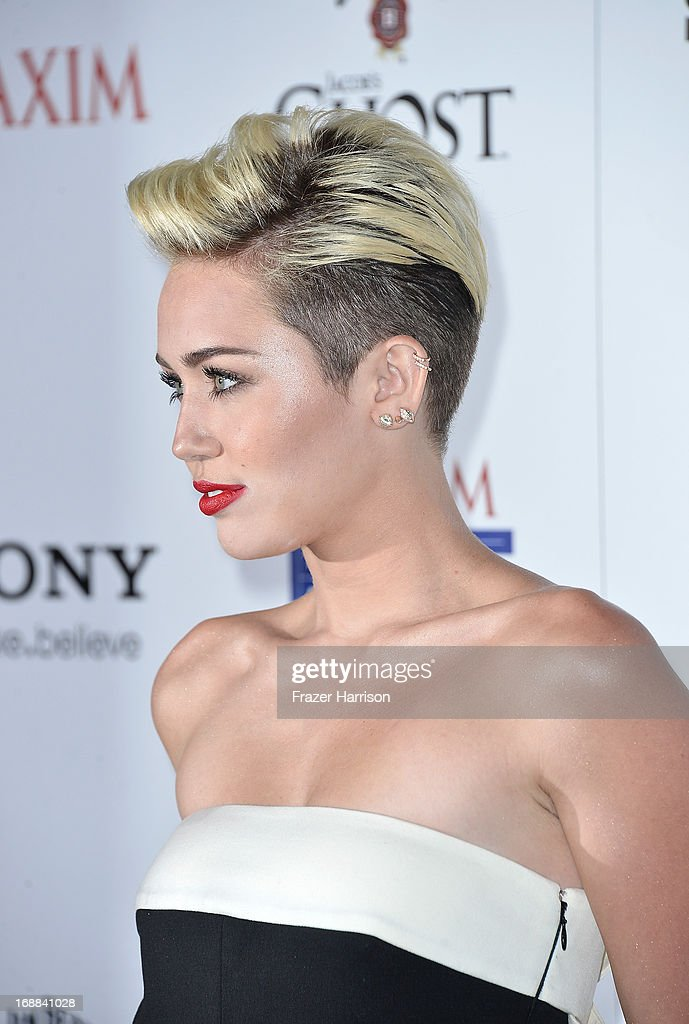 Singer Miley Cyrus, HOT 100#1 girl attends the Maxim Hot 100 Party at Create on May 15, 2013 in Hollywood, California.