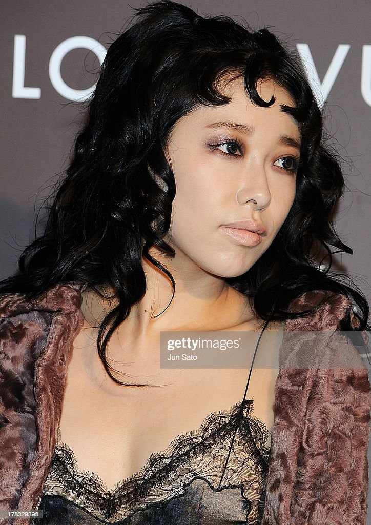 Singer Miliyah Kato attends Louis Vuitton 'Timeless Muses' exhibition at the Tokyo Station Hotel on August 29, 2013 in Tokyo, Japan.