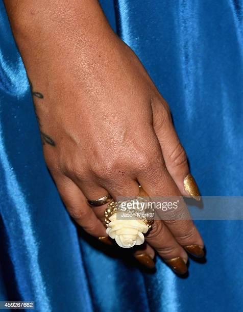 Singer Miranda attends the 2014 Person of the Year honoring Joan Manuel Serrat at the Mandalay Bay Events Center on November 19 2014 in Las Vegas...