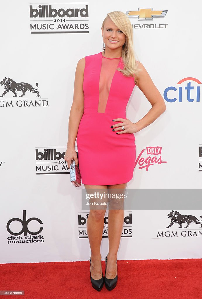 Singer <a gi-track='captionPersonalityLinkClicked' href=/galleries/search?phrase=Miranda+Lambert&family=editorial&specificpeople=571972 ng-click='$event.stopPropagation()'>Miranda Lambert</a> arrives at the 2014 Billboard Music Awards at the MGM Grand Hotel and Casino on May 18, 2014 in Las Vegas, Nevada.