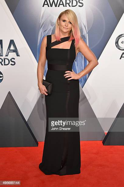 Singer Miranda Lambert attends the 49th annual CMA Awards at the Bridgestone Arena on November 4 2015 in Nashville Tennessee