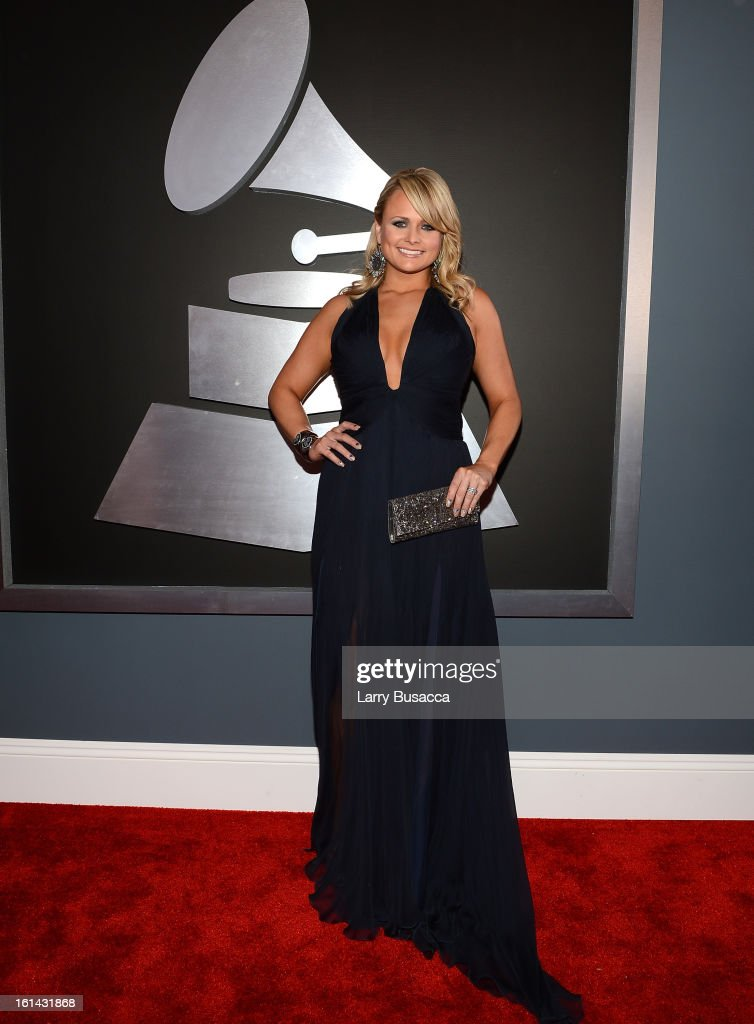 Singer Miranda Lambert attends the 55th Annual GRAMMY Awards at STAPLES Center on February 10, 2013 in Los Angeles, California.