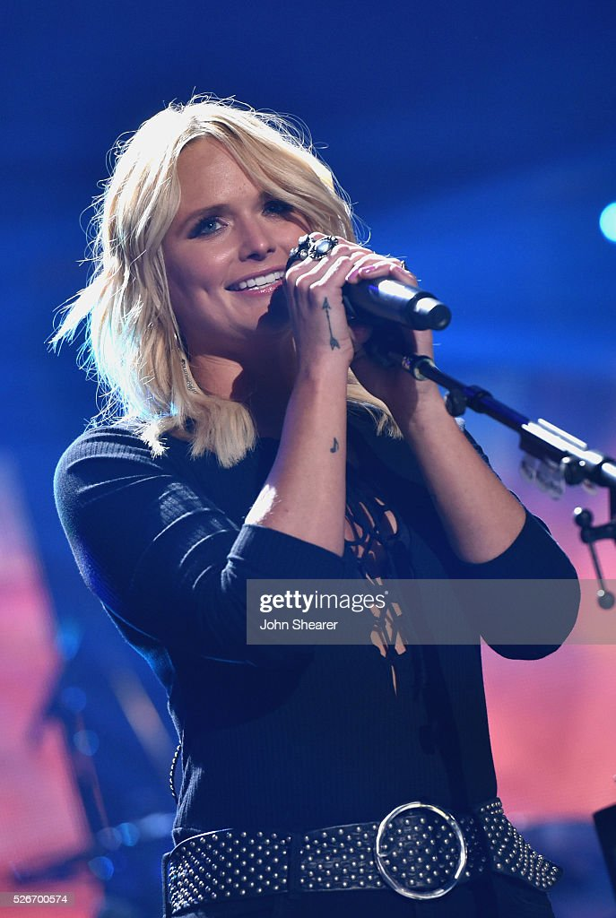 Singer Miranda Lambert performs onstage during the 2016 iHeartCountry Festival at The Frank Erwin Center on April 30, 2016 in Austin, Texas.