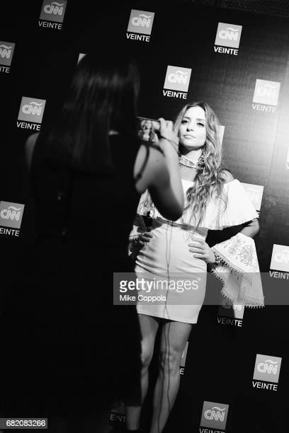 Singer Mirella Cesa attends the 2017 CNNE Upfront on May 11 2017 in New York City 27008_001