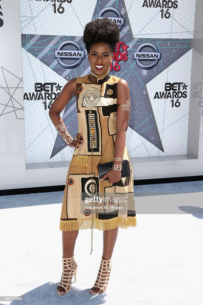 Singer Miss Vee attends the 2016 BET Awards at the Microsoft Theater on June 26, 2016 in Los Angeles, California.