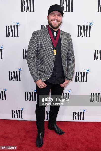 Singer Mitchell Tenpenny attends the 65th Annual BMI Country awards on November 7 2017 in Nashville Tennessee