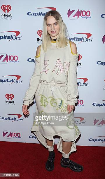 Singer MO attends Z100's Jingle Ball 2016 at Madison Square Garden on December 9 2016 in New York City