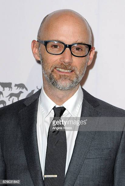 Singer Moby attends The Humane Society of the United States' to the Rescue Gala at Paramount Studios on May 7 2016 in Hollywood California