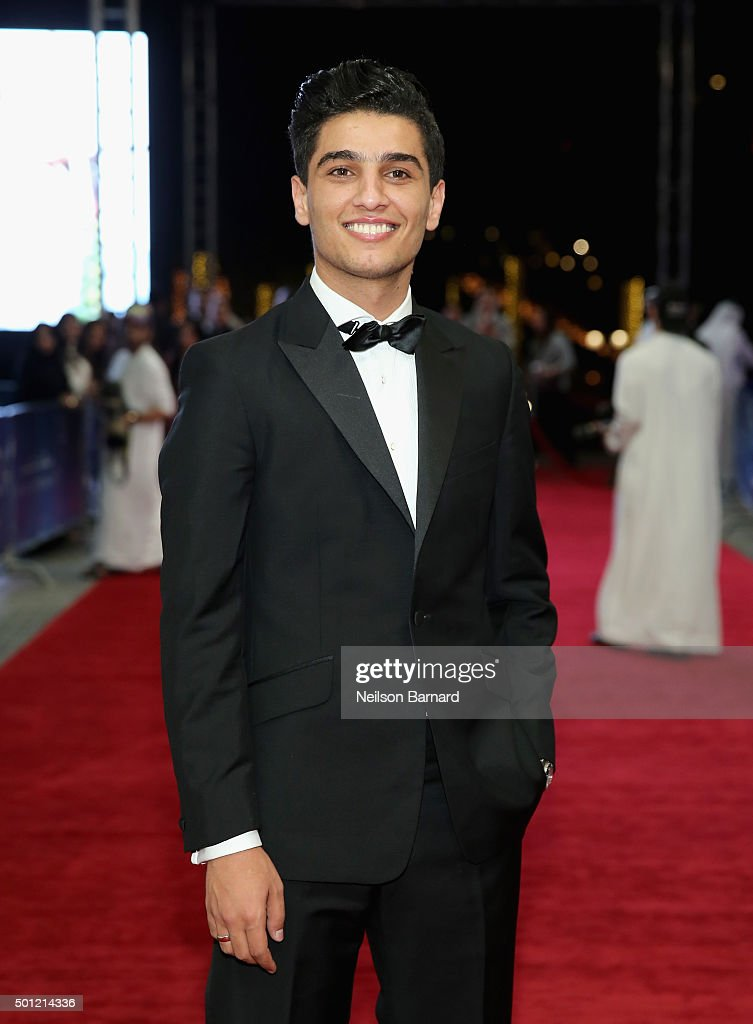 Singer <a gi-track='captionPersonalityLinkClicked' href=/galleries/search?phrase=Mohammed+Assaf&family=editorial&specificpeople=10886300 ng-click='$event.stopPropagation()'>Mohammed Assaf</a> attends 'The Idol' premiere during day five of the 12th annual Dubai International Film Festival held at the Madinat Jumeriah Complex on December 13, 2015 in Dubai, United Arab Emirates.