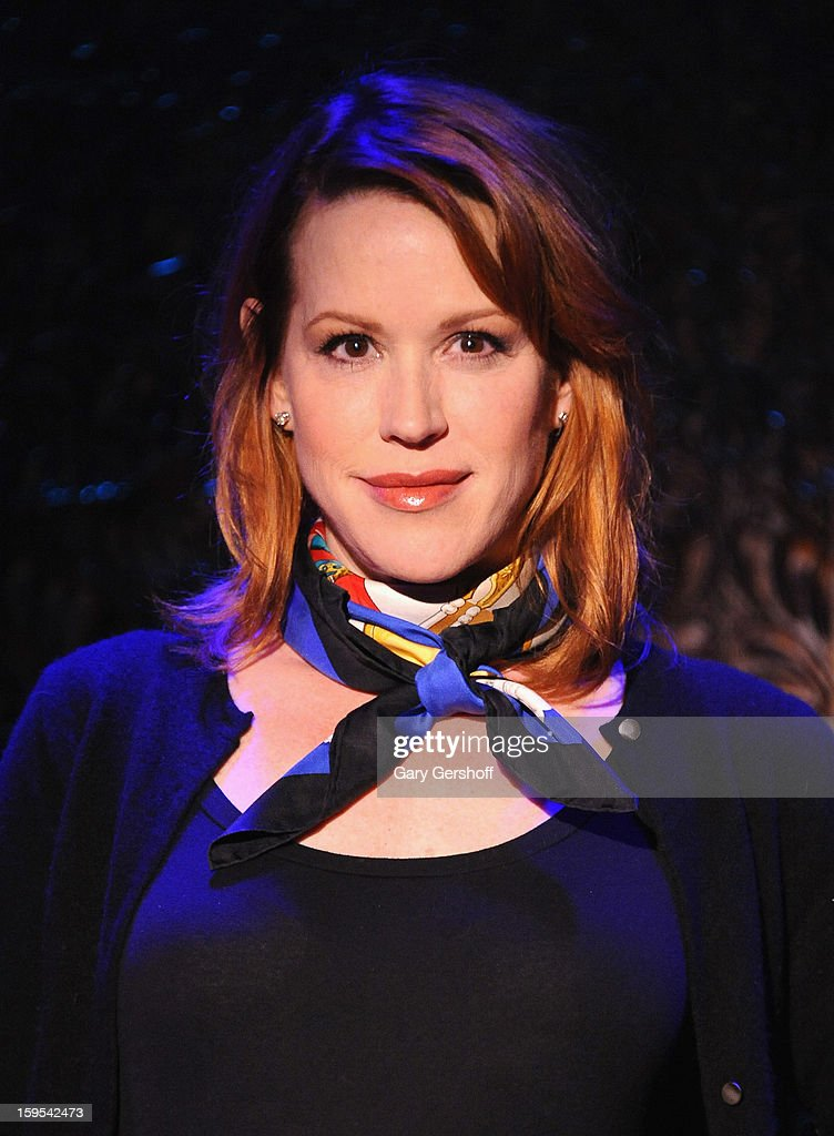 Singer Molly Ringwald attends a press preview at 54 Below on January 15, 2013 in New York City.
