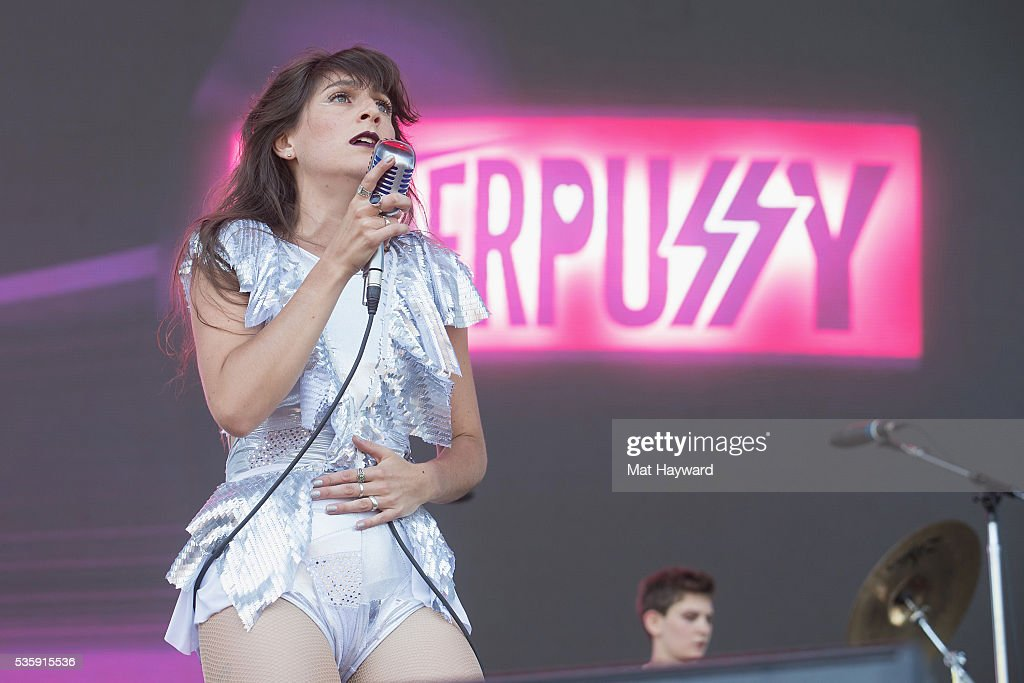 Singer Molly Sides of Thunderpussy performs on the main stage during the Sasquatch! Music Festival at Gorge Amphitheatre on May 30, 2016 in George, Washington.