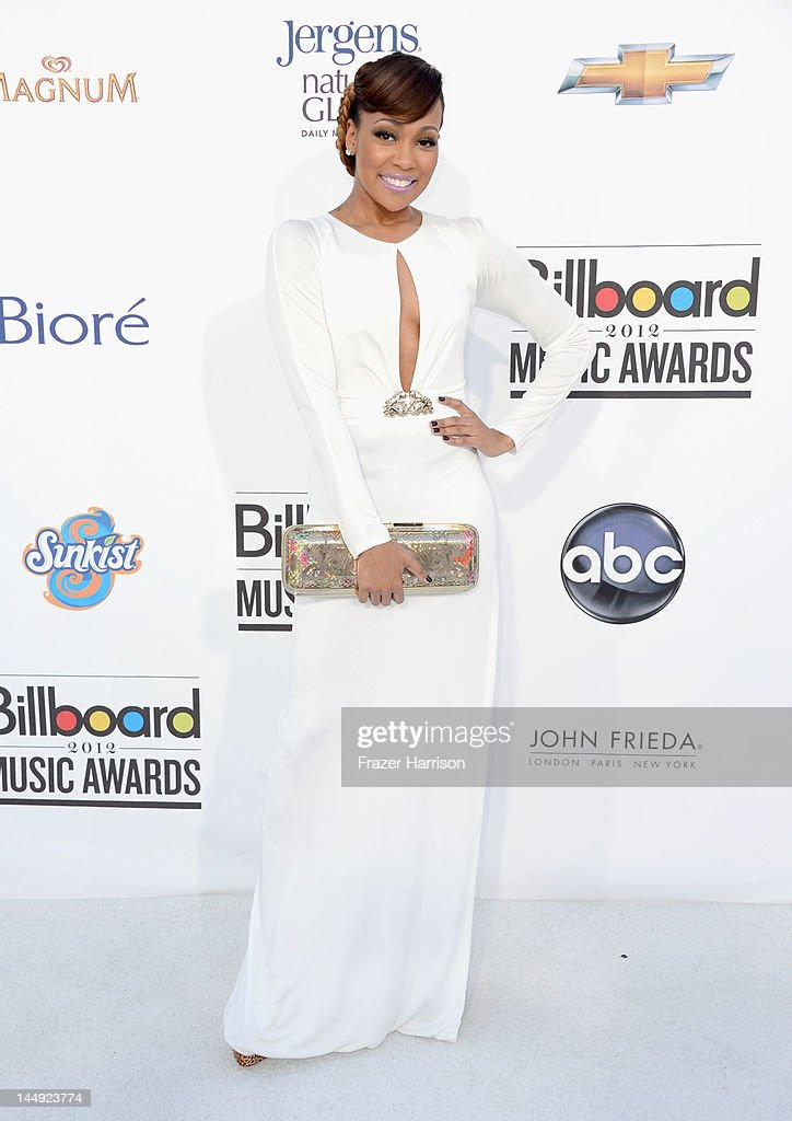 Singer Monica arrives at the 2012 Billboard Music Awards held at the MGM Grand Garden Arena on May 20, 2012 in Las Vegas, Nevada.