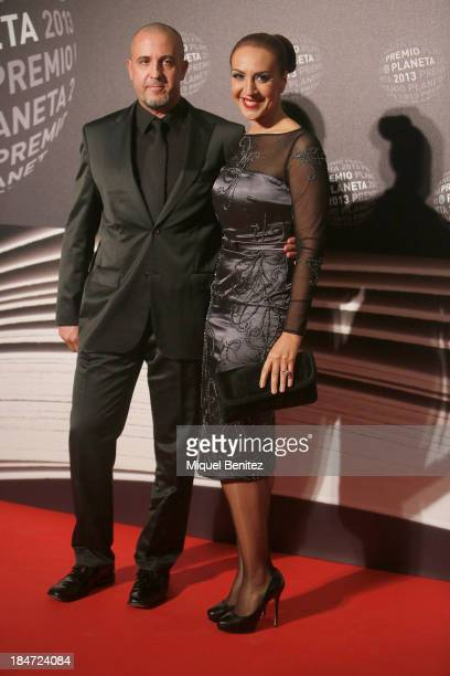 Singer Monica Naranjo and Cristobal Sansano aattend the '62nd Premio Planeta' Literature Awards the most valuable literature award in Spain with...